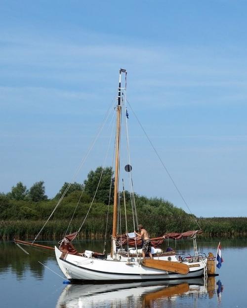 Laveren langs het Lauwersmeer