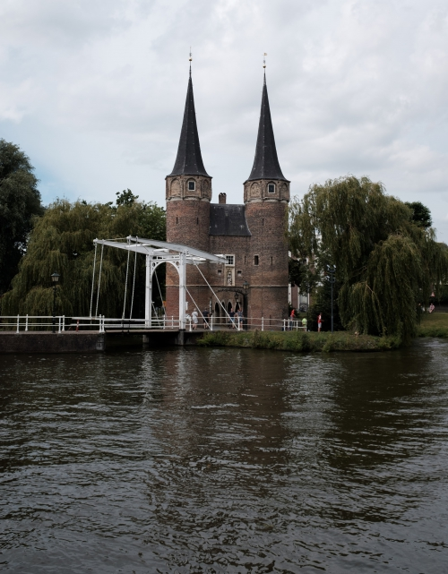 Laveren door Leiden