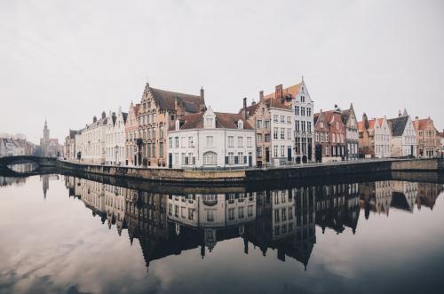 Toeren door Belgisch Venetië