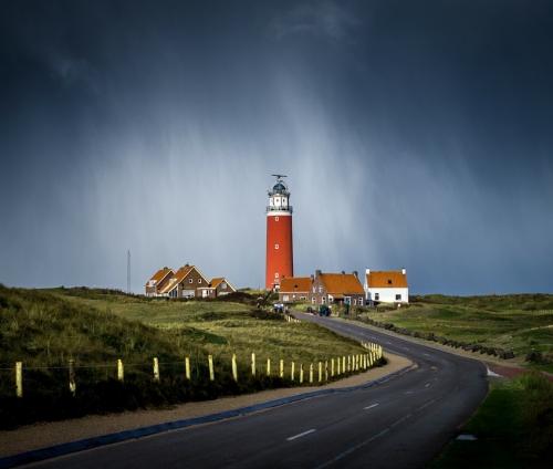 Trappen op Texel